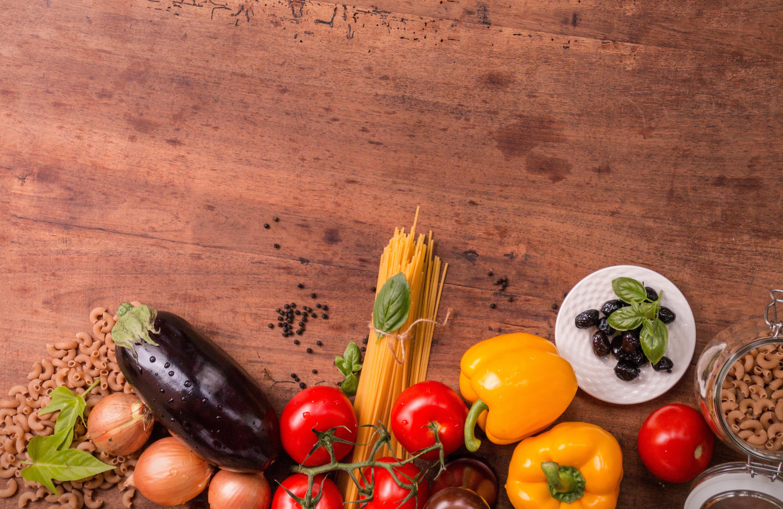 Grönsaker och pasta
